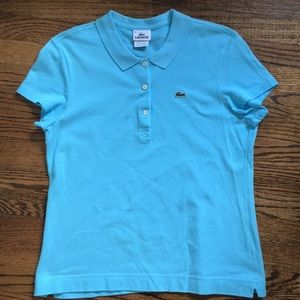 Lacoste Women's Polo Shirt - Size 46=14 great!